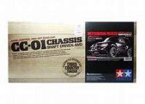Tamiya 1/10 CC01 Mitsubishi Pajero Black Special 4WD w/Black Painted Body EP #58627