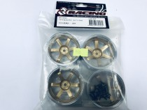 3racing T37 6- spoke Rim Gold